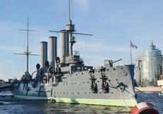 Музей крейсера рассвета Стоковое Изображение