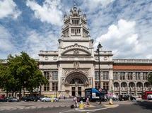 Музей Лондон Англия Виктории и Альберта стоковое изображение
