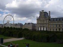Музей Лувр во Франции стоковое изображение rf