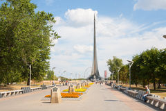 Музей мемориала космонавтики Стоковое фото RF