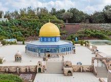 Музей миниатюр Израиля стоковое фото