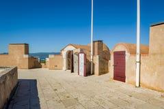 Музей морской истории в St Tropez, Франции стоковое фото rf