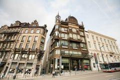 Музей музыкального инструмента в центре Брюсселя, Бельгии Стоковая Фотография
