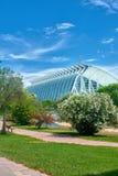 Музей науки Валенсии Стоковые Изображения
