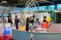 Музей науки города Нагои стоковые изображения rf