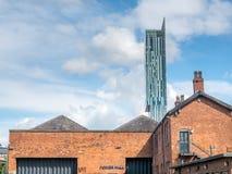 Музей науки и индустрии в Манчестере Стоковое Изображение