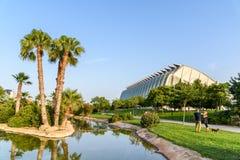 Музей науки принца Филиппа города искусств и наук стоковое изображение rf
