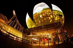 Музей науки Сингапур искусства стоковое изображение