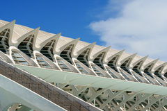 Музей наук Principe Felipe в Валенсия Стоковое фото RF
