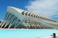 Музей наук Principe Felipe в Валенсия Стоковая Фотография RF
