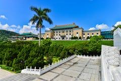 Музей национального дворца в Тайбэе, Тайване Стоковое Фото