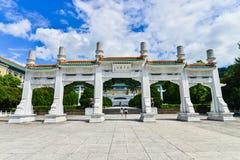 Музей национального дворца в Тайбэе, Тайване Стоковые Фото