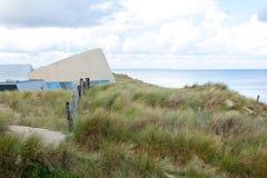 Музей дня Д пляжа Юты, Нормандия, Франция стоковые фото