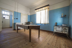 Музей дома в Kolmanskop, Намибии Стоковые Фото