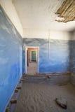 Музей дома в Kolmanskop, Намибии Стоковая Фотография RF