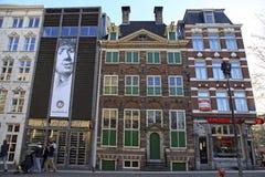 Музей дома Рембрандта в Амстердаме, Нидерландах Стоковая Фотография RF