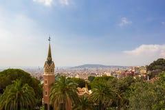 Музей дома Gaudi, Барселона, Испания Стоковая Фотография
