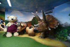 Музей Паттайя плюшевого медвежонка Стоковые Изображения RF