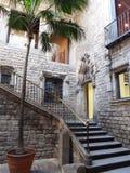 Музей Пикассо в Барселоне Стоковые Изображения RF