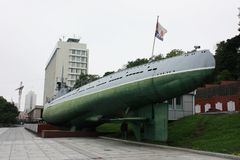 Музей подводной лодки в Владивостоке Стоковые Фотографии RF