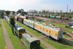 Музей поезда Стоковое фото RF