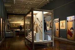 Музей положения Луизианы внутри взгляда Нового Орлеана стоковое фото rf