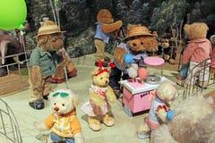 Музей плюшевого медвежонка Кореи Сеула Стоковое Изображение RF