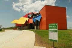 Музей разнообразия видов Parque Biodiversidad в Панама (город) стоковое фото rf