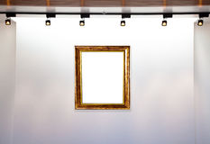 музей рамки Стоковые Фото