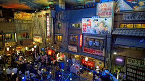 Музей рамэнов Голень-Иокогама стоковые фото