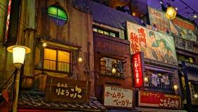 Музей рамэнов Голень-Иокогама стоковые фотографии rf