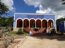 Музей рассказа Choco в Юкатане Мексике Стоковое фото RF