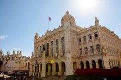 Музей революции в Гаване, Кубе стоковая фотография