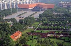 Музей революции Ухань Xinhai и другие здания Стоковая Фотография