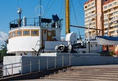Музей рыбацкой лодки Стоковое Изображение RF