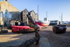 Музей рыбопромыслового флота на Hastings, восточном Сассекс, Англии стоковая фотография