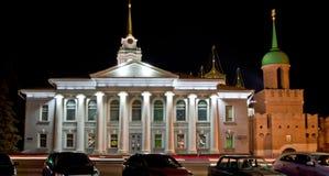 Музей самоваров Тулы Кремля - Тулы и строб Odoevsky башни Стоковые Фото
