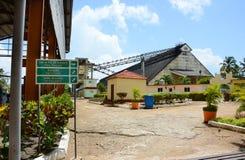 Музей сахарного завода стоковые фотографии rf