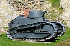 Музей Сербия Белграда светлого танка Renault FT 17 француза революционный воинский Стоковая Фотография