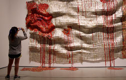Музей современного искусства в Нью-Йорке Стоковое фото RF