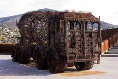 Музей современного искусства mona Стоковые Фотографии RF