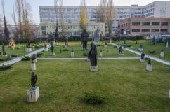 Музей социалистического города Болгарии Софии искусства стоковое изображение rf