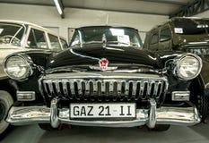 Музей старых советских автомобилей стоковые изображения rf