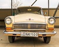 Музей старых советских автомобилей стоковое фото rf