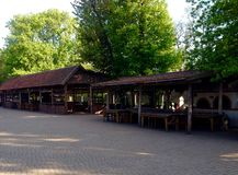 Музей украинских казаков Стоковая Фотография