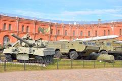 Музей экспозиции артиллерии Стоковые Изображения