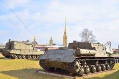 Музей экспозиции артиллерии Стоковая Фотография RF