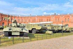 Музей экспозиции артиллерии Стоковые Изображения RF