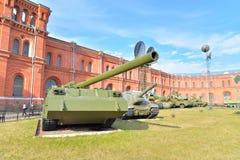 Музей экспозиции артиллерии Стоковое Изображение