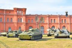 Музей экспозиции артиллерии Стоковое фото RF
